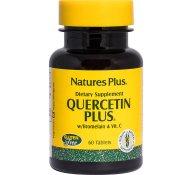 Nature's Plus Quercetin Plus W / Vit C Bromelain Συμπλήρωμα Κουερσετίνης 60 tabs