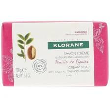 Klorane Nourishing Body Cream Soap with Organic Cupuacu Butter & Fig Leaf Κρεμώδες Σαπούνι με Εκχύλισμα Φύλλου Συκιάς 100gr