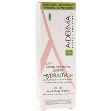 A-Derma Hydralba Hydratante UV Spf20 Legere, Λεπτόρρευστη Ενυδατική Κρέμα 40ml Promo -20%