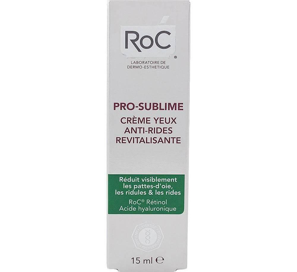 Roc Pro-Sublime Creme Yeux Anti-Rides Revitalisante Αντιρυτιδική Αναζωογονητική Κρέμα Ματιών 15ml