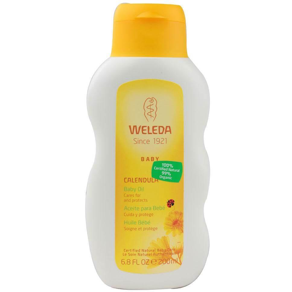 Weleda Baby Calendula Oil Λάδι Σώματος Απαλής Περιποίησης Καλέντουλας για Μωρά και Παιδιά 200ml