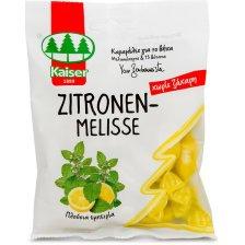 Kaiser Zitronen-Melisse Καραμέλες για το Βήχα Χωρίς Ζάχαρη με Μελισσόχορτο & 13 Βότανα 60gr