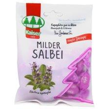 Kaiser Milder Salbei Καραμέλες για το Βήχα Χωρίς Ζάχαρη με Φασκόμηλο & 13 Βότανα 60gr