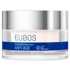 Eubos Hyaluron Repair Filler Night Creme Αντιρυτιδική Κρέμα Νύχτας 50ml