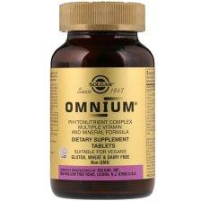 Solgar Omnium Πρωτοποριακή Προηγμένη Φόρμουλα Πολλαπλής Διατροφικής Αξίας - 30 tabs