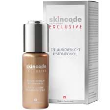 Skincode Cellular Overnight Restoration Oil Επανορθωτικό Λάδι Νύχτας για το Πρόσωπο 30ml