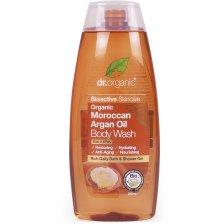 Dr Organic Organic Moroccan Argan Oil Body Wash Αφρόλουτρο με Βιολογικό Έλαιο Αργκάν 250ml