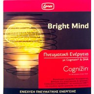 Lanes Bright Mind Συμπλήρωμα Διατροφής,Διατήρηση της Φυσιολογικής Εγκεφαλικής Λειτουργίας,Ενίσχυση Πνευματικής Ενέργειας 10x10ml