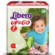 Libero Up&Go No7 (16-26kg) XL Plus, 34 πάνες