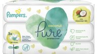 Pampers Pure Coconut Protection Baby Wipes Μωρομάντηλα για Απαλή Καθαριότητα & Προστασία με Έλαιο Καρύδας (3x42) 126 Τεμάχια