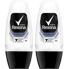 Rexona Men Πακέτο Προσφοράς Active Protection+ Invisible Roll On 2x50ml 1+1 Δώρο