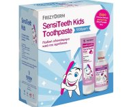 Frezyderm SensiTeeth Kids Toothpaste 1.000ppm Οδοντόκρεμα από 6 ετών 50ml & Δώρο SensiTeeth Kids Mouthwash 100ml