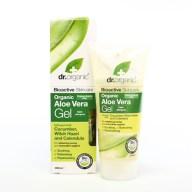 Dr Organic Aloe Vera Gel with Cucumber & Witch Hazel Βιολογικό Τζελ Αλόης Βέρα με Αγγούρι και Αμαμελίδα 200ml