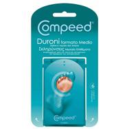 Compeed Calluses Medium Επιθέματα Σκληρύνσεις 6 Μεσαία
