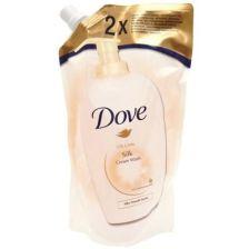 Dove Υγρό Κρεμοσάπουνο Silk Ανταλλακτικό 2x500ml