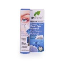 Dr Organic Organic Dead Sea Mineral Eye Rescue Rollerball Σέρουμ Ματιών με Βιολογικά Μεταλλικά Στοιχεία 15ml