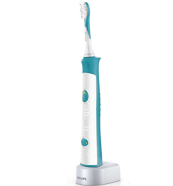 Philips Sonicare For Kids Παιδική Ηλεκτρική Οδοντόβουρτσα για Παιδιά 4+ Ετών με 8 Διαφορετικές Λαβές 1 Τεμάχιο