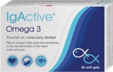 IgActive Συμπλήρωμα Διατροφής Omega 3 1000mg 30sgels