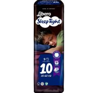 Libero Sleep Tight Πάνα Βρακάκι Νο10 35-60Kg 9 πάνες