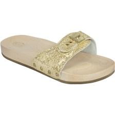 Dr Scholl Shoes PescuraΧρυσό Γυναικεία Ανατομικά Παπούτσια Χαρίζουν Σωστή Στάση & Φυσικό Χωρίς Πόνο Βάδισμα 1 Ζευγάρι - 37