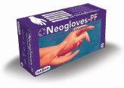 Neogloves Εξεταστικά Γάντια Latex - Χωρίς Σκόνη Medium 100τμχ