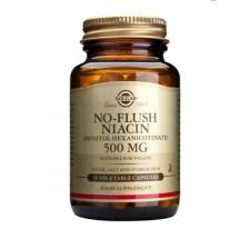 Solgar No Flush Niacin (B3) 500mg 50veg.caps