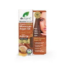Dr Organic Organic Moroccan Argan Oil Liquid Gold 100% Πιστοποιημένο Βιολογικό Έλαιο Αργκάν 50ml