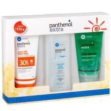 Medisei Panthenol Extra Πακέτο Προσφοράς Sun Care Body Milk Spf30 150ml - Glacier Face Water 250ml - Aloe Vera Gel 150ml