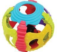 Playgro Shake Rattle and Roll Ball Βρεφικό Παιχνίδι 6m+ 1τμχ