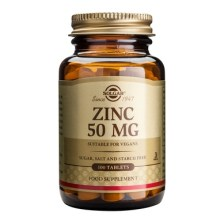 Solgar Zinc Gluconate 50mg 100tablets