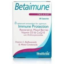 Health Aid Betaimune Αντιοξειδωτικός Συνδυασμός 30caps