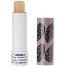 Korres Lip Balm Natural Care Sweet Almond Εντατική Θρέψη & Επανόρθωση για τα Χείλη με Αμυγδαλέλαιο 5ml
