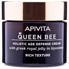 Apivita Queen Bee Rich Κρέμα Ημέρας Ολιστικής Αντιγήρανσης με Ελληνικό Βασιλικό Πολτό 50ml