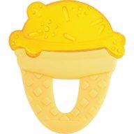 Chicco Δροσιστικός Κρίκος Οδοντοφυΐας Παγωτό 4m+ - κίτρινο