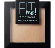 Maybelline Fit Me Matte + Poreless Pressed Powder Δίνει Φυσική και Ταυτόχρονα ματ Κάλυψη 8.2gr - Classic Ivory