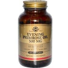 Solgar Evening Primrose Oil softgels - 500mg 180softgels