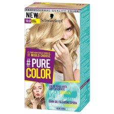 Schwarzkopf Pure Color Επαγγελματική Μόνιμη Βαφή Gel Μαλλιών, Έντονο Χρώμα που Διαρκεί, Πλούσια Περιποίηση & Ενυδάτωση - 10.0 Angel Blonde