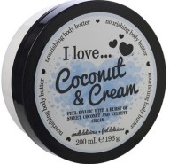 I love... Nourishing Body Butter Θρεπτικό Βούτυρο Σώματος 200ml - Coconut & Cream