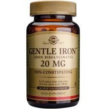 Solgar Gentle Iron 20mg veg.caps - 180 caps