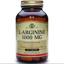 Solgar L-Arginine Συμπλήρωμα Διατροφής μεΑργινίνη για τη Παραγωγή Ενέργειας στους Μύεςveg caps - 1000mg 90caps