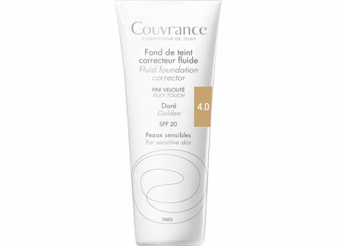 Avene Couvrance Fond te Teint Correcteur Fluide Spf 20 Υγρό Διορθωτικό Make-up30ml - Miel (4.0)