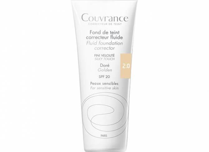 Avene Couvrance Fond te Teint Correcteur Fluide Spf 20 Υγρό Διορθωτικό Make-up30ml - Naturel (2.0)