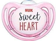 Nuk Freestyle Πιπίλα Σλικόνης - 6-18 Μηνών Ροζ