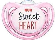 Nuk Freestyle Πιπίλα Σλικόνης - 18-36 Μηνών Ροζ