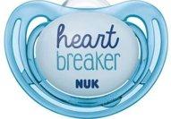 Nuk Freestyle Πιπίλα Σλικόνης - 6-18 Μηνών Μπλε