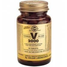 Solgar Formula VM-2000 Συμπλήρωμα Διατροφής Πλούσιο σε Αντιοξειδωτικά & Μέταλλα Χηλικής Μορφής tablets - 30 tabs