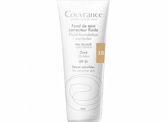 Avene Couvrance Fond te Teint Correcteur Fluide Spf 20 Υγρό Διορθωτικό Make-up30ml - Sable (3.0)