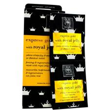 Apivita Express Gold Mάσκα Σύσφιξης Και Ανάπλασης Με Βασιλικό Πολτό 2x8ml