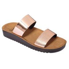 Dr Scholl Shoes Cynthia Rose Gold Γυναικεία Ανατομικά Παπούτσια Χαρίζουν Σωστή Στάση & Φυσικό Χωρίς Πόνο Βάδισμα 1 Ζευγάρι - 41