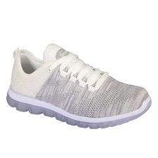 Dr Scholl Shoes Darwin Light Grey Γυναικεία Ανατομικά Παπούτσια Χαρίζουν Σωστή Στάση & Φυσικό Χωρίς Πόνο Βάδισμα 1 Ζευγάρι - 39